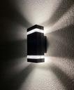 Lampa elewacyjna LED zewnętrzna kinkiet ogrodowy Długość/wysokość 23 cm