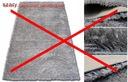 DYWAN SHAGGY 5cm PLUSZOWY 170x120 MIĘKKI 9 KOLORÓW Kształt Prostokąt