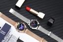 Smartwatch damski PRESTIGE GOLD SPORT KROKI PULS Kształt koperty okrągły