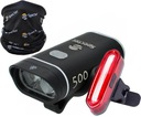 Zestaw lampka SPECTER LED XPG500+ tylna KOMIN TUBA