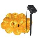 Girlanda Solarna 20 LED Lampki Ogrodowe Kule 5M