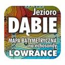 Jezioro Dąbie mapa batymetryczna Lowrance Simrad