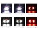 Latarka czołowa LED akumulatorowa włączanie ruchem Rodzaj czołowe
