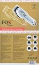 Fox Pegasus profesjonalna maszynka do włosów Możliwość mycia pod wodą nie