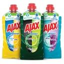 AJAX płyn uniwersalny BOOST ZESTAW MIX 3x 1L