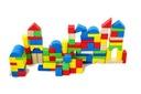Zabawki dla dzieci Kolorowe klocki 100szt + sorter Rodzaj zestaw