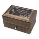 Drewniana szkatułka na Biżuterię z GRAWEREM XXL