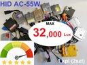Różne Mocne HID Xenon AC 55W CANBUS 32.000Lux