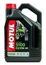 Olej silnikowy MOTUL 5100 10W40 4L + filtr oleju Numer katalogowy części 104068