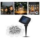 Girlandy Lampki Ogrodowe Solarne LED 10szt Żarówki Rodzaj lampa wisząca