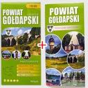 Gołdap. Powiat Gołdapski. Mapa + przewodnik