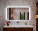 Lustro podświetlane 110x60 do łazienki TUNISIA Producent MEGADO
