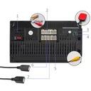 RADIO SAMOCHODOWE 2 DIN ANDROID 8.1 USB KAMERA GPS Waga produktu z opakowaniem jednostkowym 0.8 kg