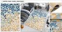 DYWAN LAZUR 120x170 NOWOCZESNY Fryz MODNE WZORY Waga produktu z opakowaniem jednostkowym 3 kg
