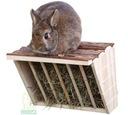 Paśnik na siano z półką dla królika gryzoni Trixie Typ paśnik wiszący