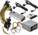 Zestaw do zasilania GPU / ASIC / FPGA 1400w+250w