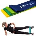 Zestaw fitness do ćwiczeń skakanka+taśmy oporowe Model HS-ZNR16