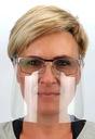 MINI PRZYŁBICA NA OKULARY - maska na nos i usta