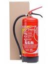 Gaśnica proszkowa 6kg GP-6x ABC-wieszak, gwarancja Waga produktu z opakowaniem jednostkowym 6 kg