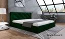 Łóżko Tapicerowane Stelaż 180 pojemnik BOB LIMA 4 Marka Inny producent