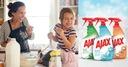 AJAX zestaw do czyszczenia domu spray 3x750 ml Pojemność (l) 2.25