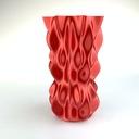 Filament Fiberlogy FiberSilk Metallic Czerwony / R Kolor czerwony