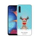 Świąteczne Etui Samsung Galaxy A50 Mikołaj Prezent