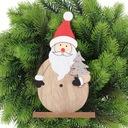 ŚWIĘTY MIKOŁAJ DUŻA FIGURKA PREZENT NA ŚWIĘTA Motyw Mikołaj