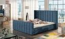 Łóżko tapicerowane Malibu 140x200