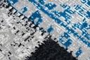 DYWAN VINTAGE 133x190 PATCHWORK niebieski #B852 Wzór orientalny