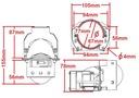 Mocne Soczewki BI-LED 3'' szerokie vs KOITO Wersja Europejska