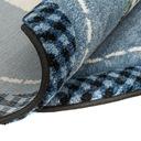 Modny dziecięcy dywan gruby gęsty okrągły 120 cm Bohater brak
