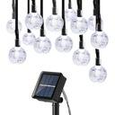 Lampki Solarne Ogrodowe Żarówka Lampa 20 LED 5 M Zasilanie solarne
