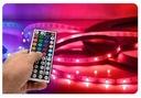TAŚMA LED SMD 2835 20m ZESTAW KOLOROWA RGB PILOT Moc 36 W
