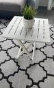 Stolik składany na balkon / ogród / kemping Styl tradycyjny