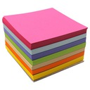 Notes karteczki kostka papierowa kolorowa 85x85x50 Marka Konfex