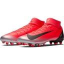 Buty piłkarskie Nike Mercurial Superfly 6 r.45 Kolor dominujący czerwony