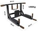DRĄŻEK PODCIĄGANIA ĆWICZEŃ UCHWYT na WOREK PRO550 Waga (z opakowaniem) 10 kg