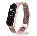 BRANSOLETA OPASKA PASEK DO MI BAND 3 / 4 ROSE GOLD