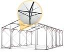 4x6m Namiot ogrodowy fi50 mm ognioodporny solidny Średnica rurek - ściany 50 mm