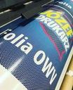 Folia One Way Vision OWV Szyby Witryny Projekt 1m2 Rodzaj folia dziurkowana