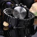 NAVIFORCE Zegarek męski bransoleta - 6 kolorów Mechanizm kwarcowy