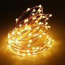 Solarna Lampa 100Led 10M Ogród lampki dekoracyjne Waga (z opakowaniem) 0.15 kg