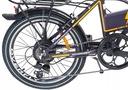 Rower elektryczny Overfly Zing fiolet 36 V 10,4 Ah Rozmiar ramy brak informacji
