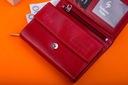 Skórzany portfel damski mały Garbarnia Praska Wzór dominujący bez wzoru