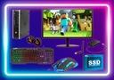 Zestaw PC do GIER i5 16GB 500GB +120GB SSD WIN10 Marka HP