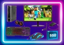 Zestaw PC do GIER i5 16GB 500GB +240GB SSD WIN10 Marka HP