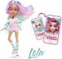 Lalka Snap Star #Snapstar Lola aplikacja+akcesoria