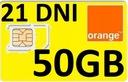internet na kartę orange 50GB / 14 dni