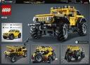 LEGO TECHNIC Jeep Wrangler 42122 Płeć Chłopcy Dziewczynki